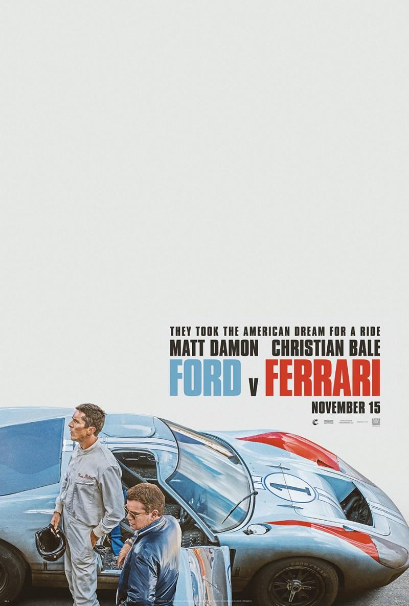 Ford V Ferrari official poster