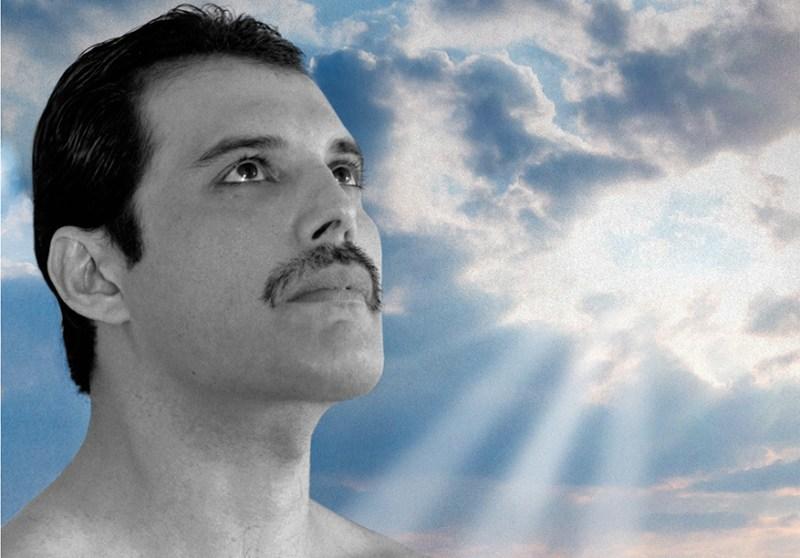 "Freddie Mercury - ""Time Waits For No One"""