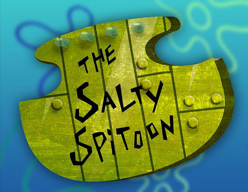 Salty Spitoon Pop Up