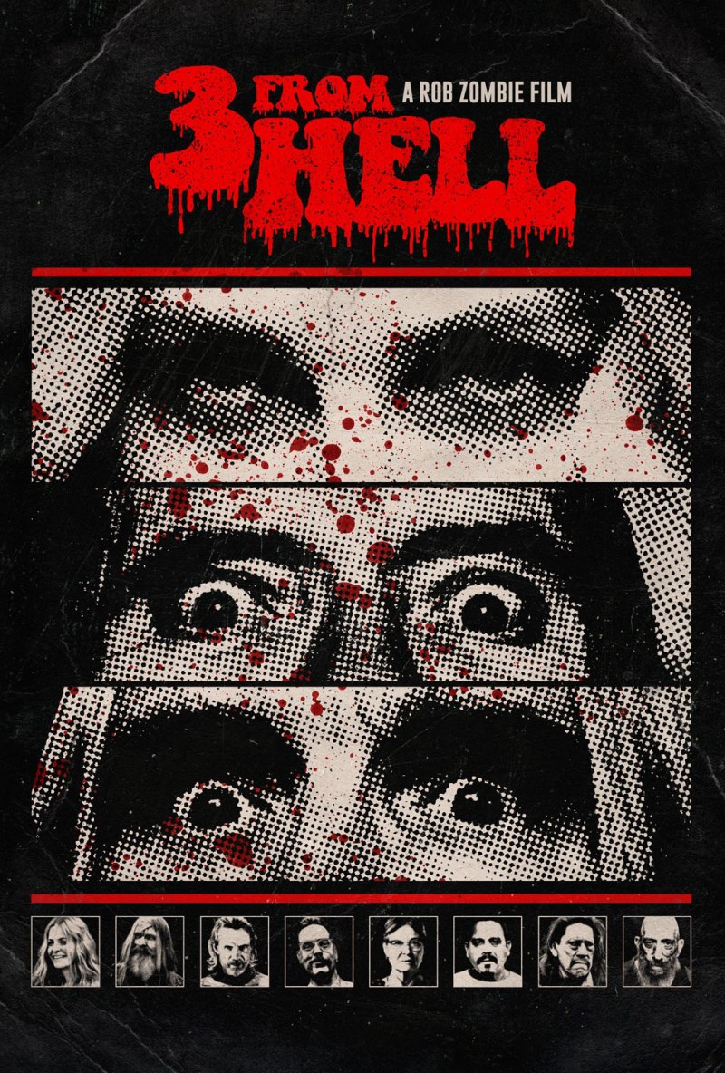 Rob Zombie's 3 From Hell - Theatrical Poster