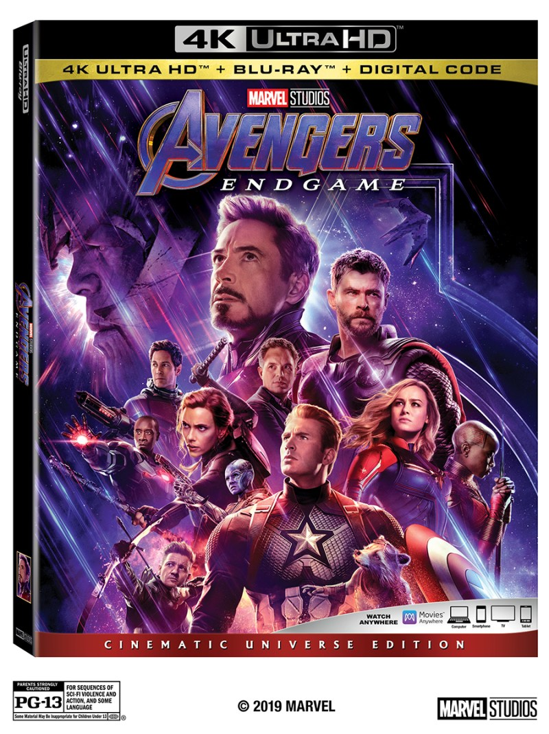 Avengers Endgame on 4KHD