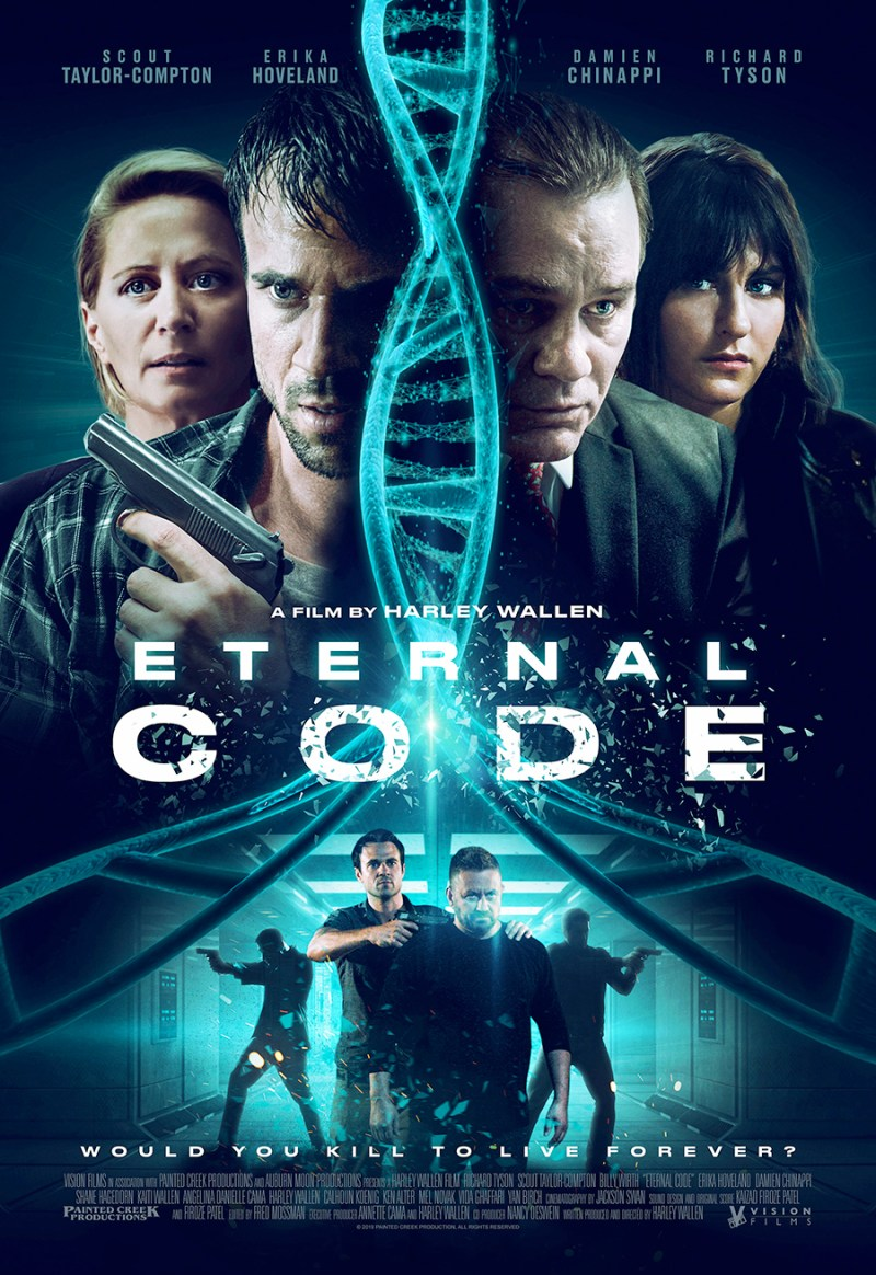 Eternal Code theatrical poster