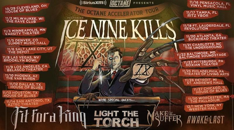 Ice Nine Kills - The Octane Accelerator Tour