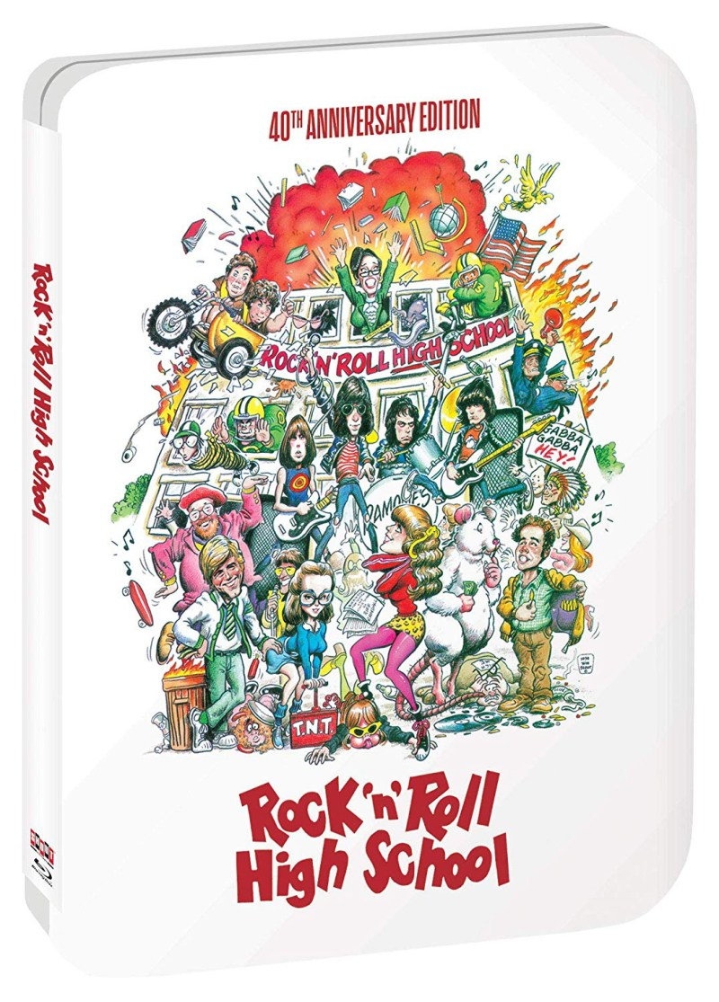 Rock 'N' Roll High School (40th Anniversary Edition Steelbook)