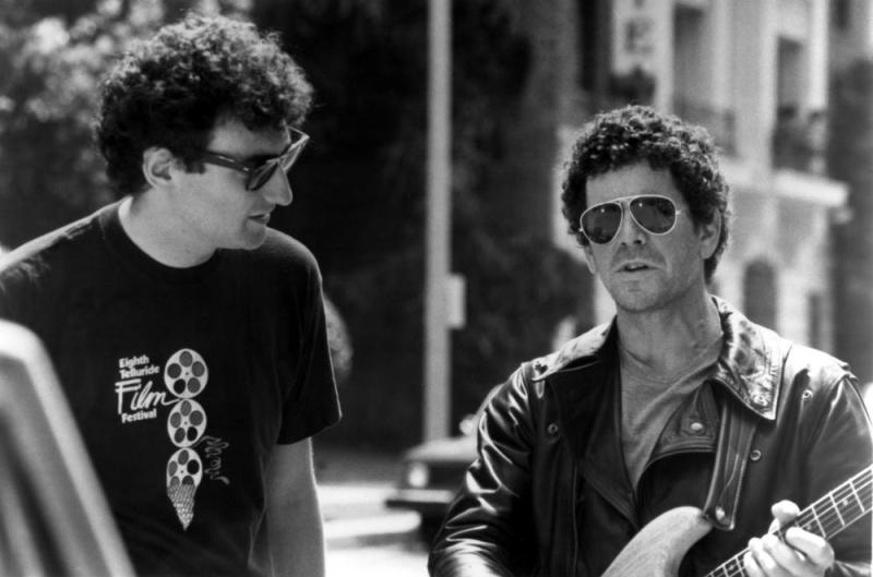 Allan Arkush and Lou Reed