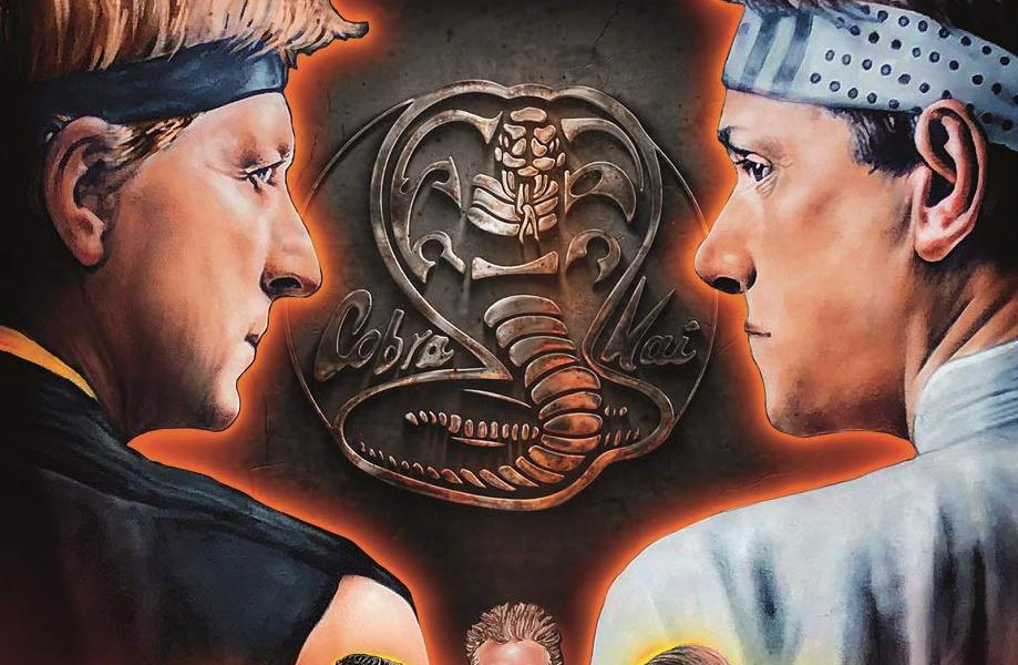 The Karate Kid Saga Enters A New Era As 'Cobra Kai' Comes to Netflix! -  Icon Vs. Icon