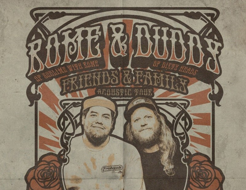 Rome and Duddy Friends and Family tour