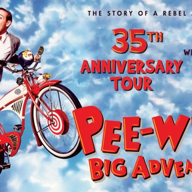 Paul Reubens to Headline U.S. Tour Celebrating 35th Anniversary of Pee-Wee's Big Adventure 35th Anniversary Tour