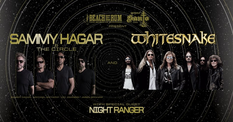Sammy Hagar and The Circle To Tour with Whitesnake