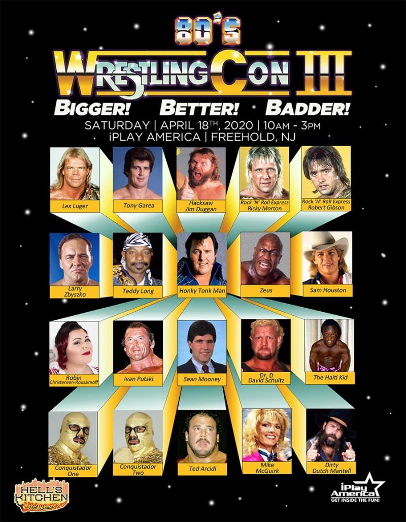 80's Wrestling Con 3