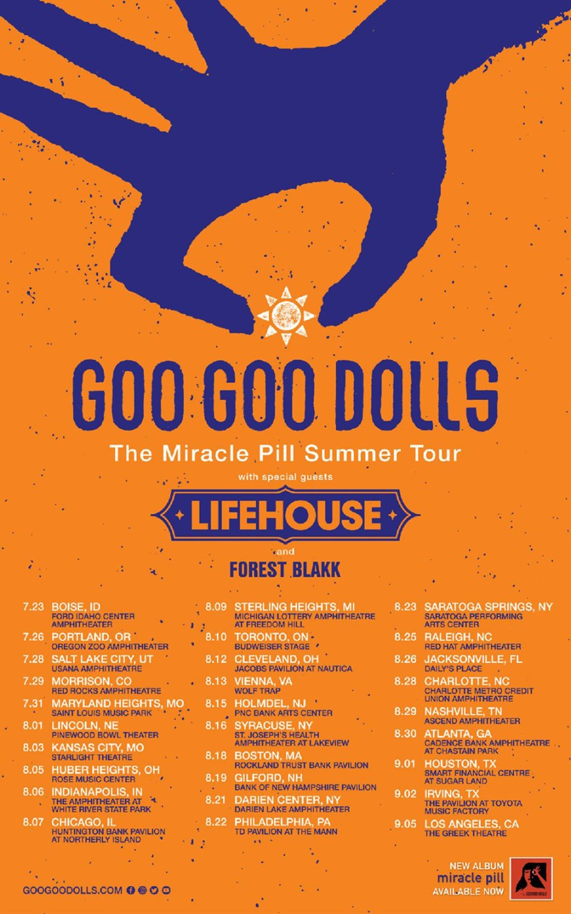 Goo Goo Dolls 2020 Tour Dates