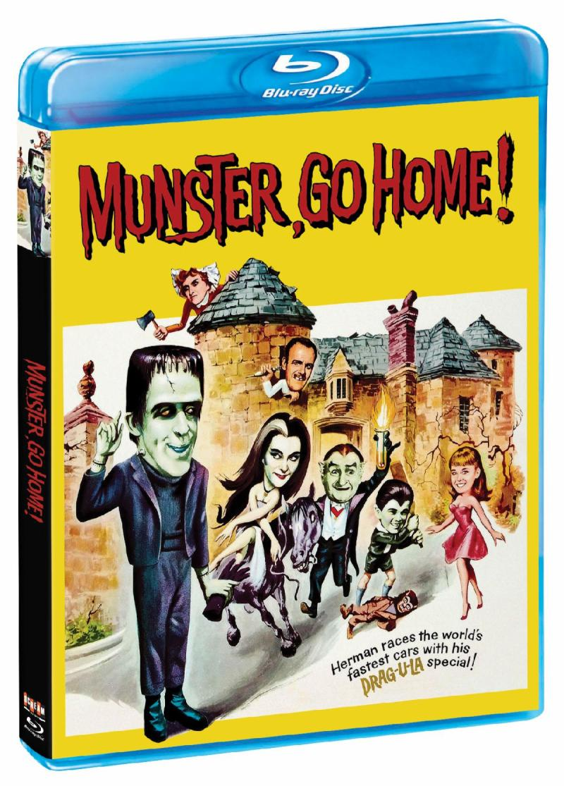 Munster, Go Home! on Blu-ray