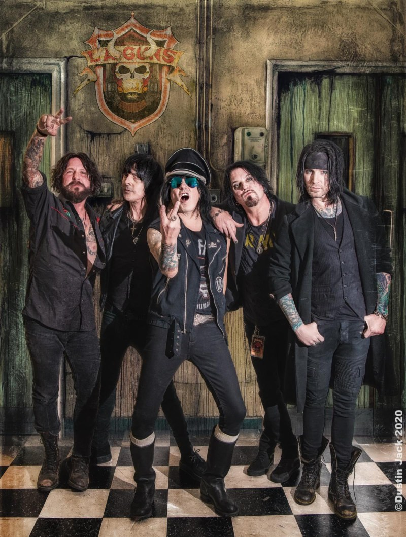 LA Guns featuring Tracii Guns and Phil Lewis