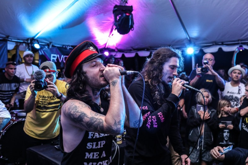 Mickey Avalon and Brandon McNamara