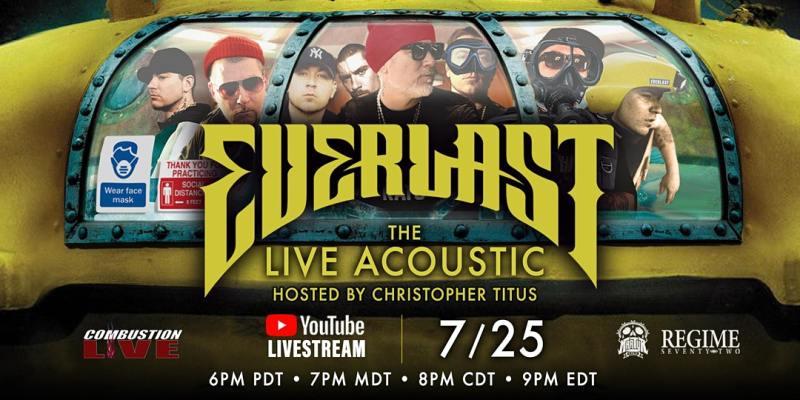 Everlast Announces Live Acoustic Youtube Concert