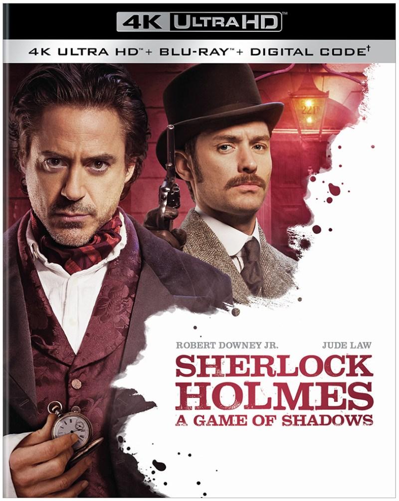 Sherlock Holmes 4K Ultra HD Blu-ray