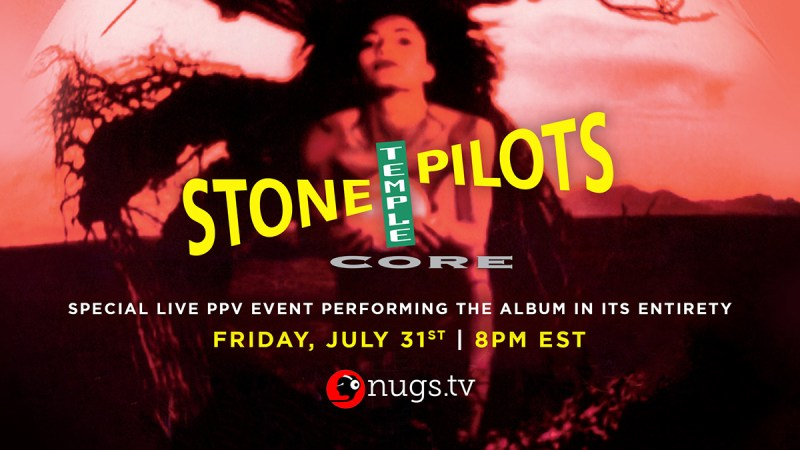 Stone Temple Pilots - Livestream Event Friday July 31 @ 5pm PST
