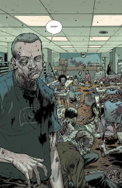 The Walking Dead Comics in color