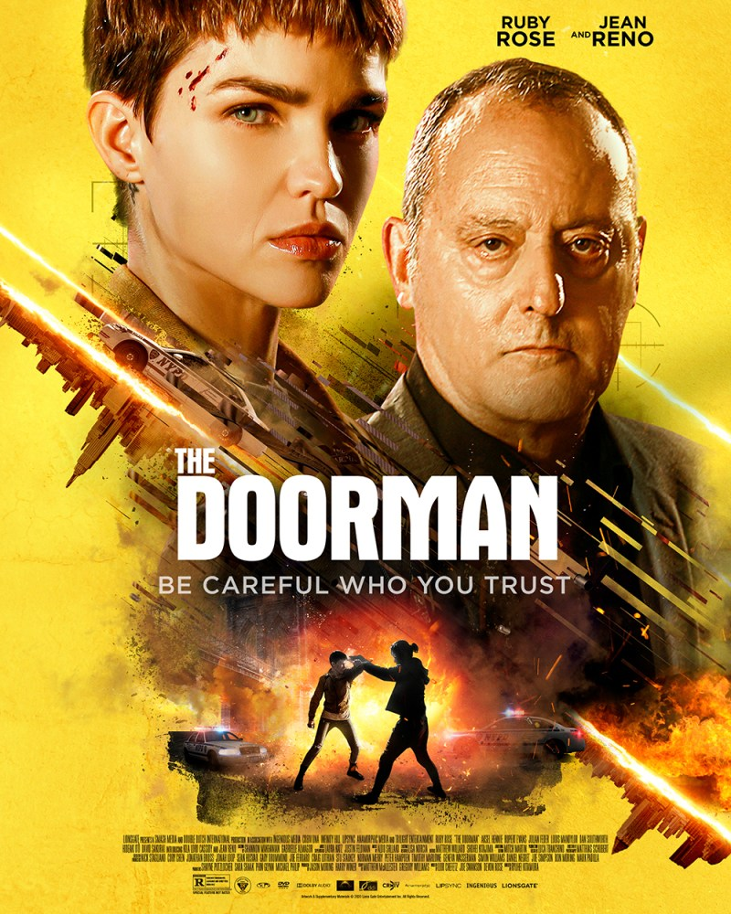 The Doorman - Ruby Rose and Jean Reno