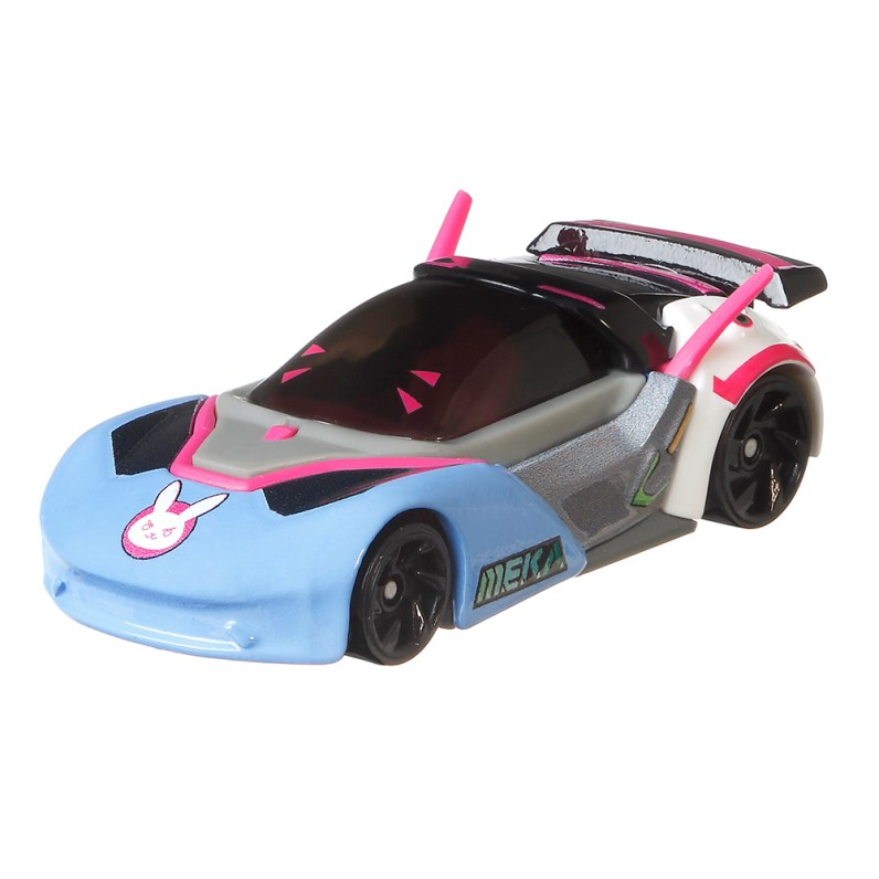 Overwatch Character Cars from Hot Wheels