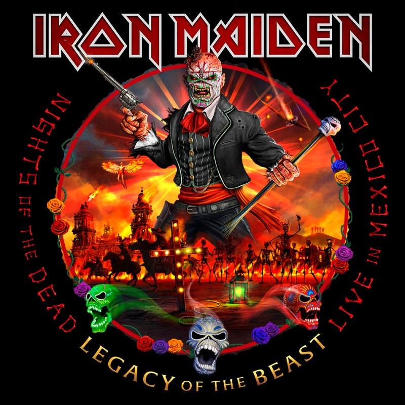 Iron Maiden - 'Nights Of The Dead, Legacy Of The Beast: Live in Mexico City'