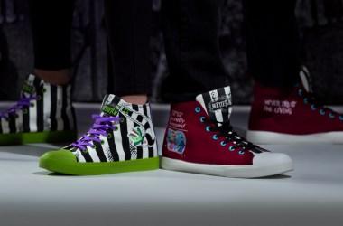 Unisex Beetlejuice High Top Sneakers