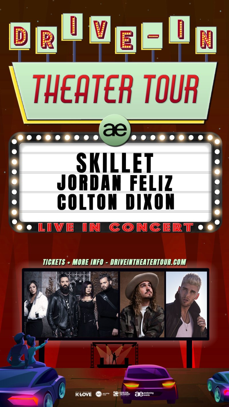 Skillet Drive-In Tour