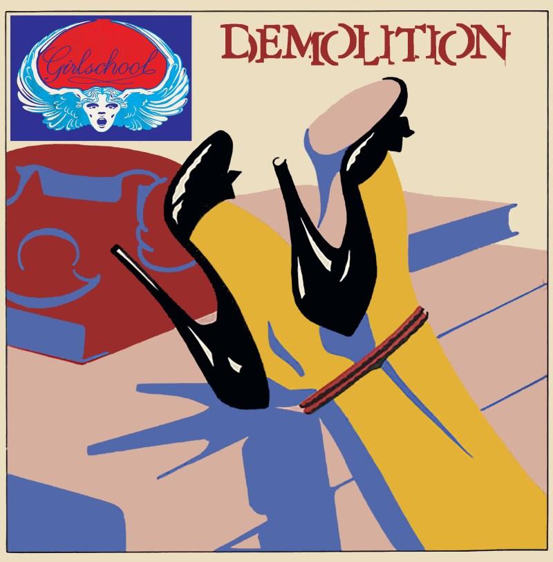 Girlschool - Demolition