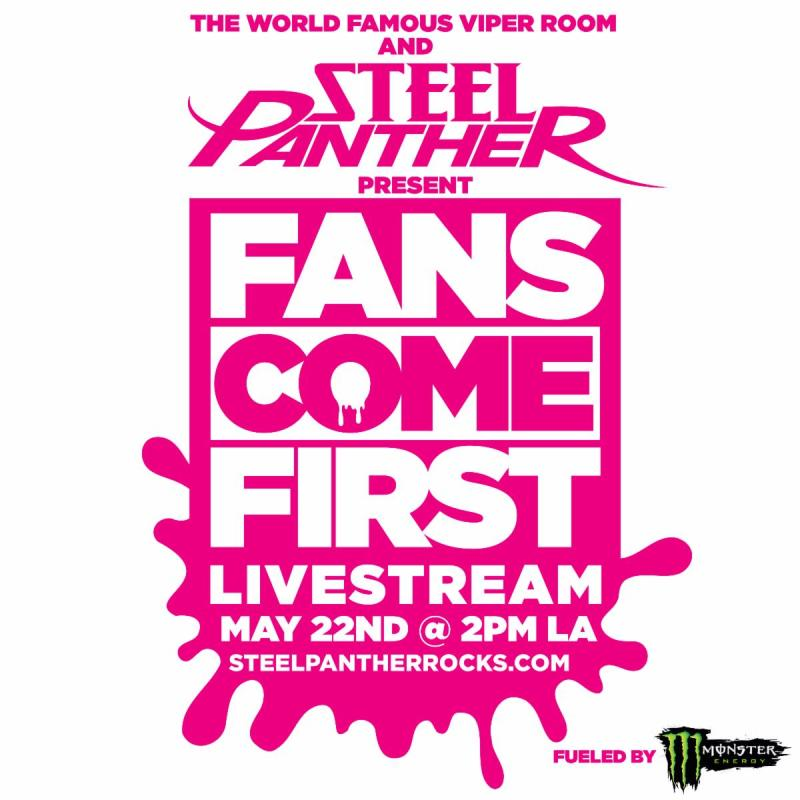 Steel Panther - Fans Come First Livestream