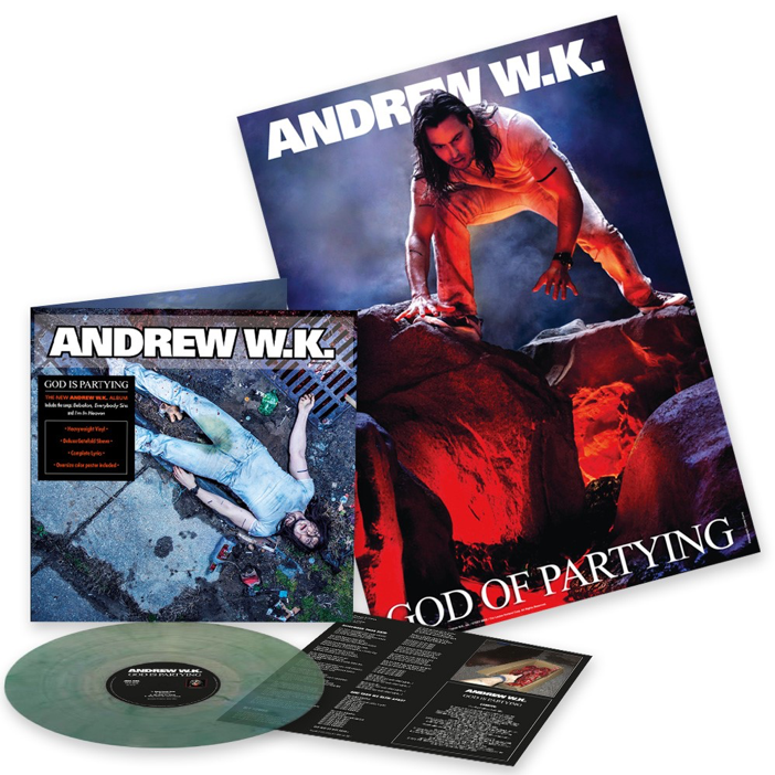 Andrew W.K. - 'God Is Partying'