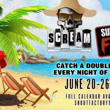 Scream Factory & Shout! Factory TV Present 'Summer of Fear'