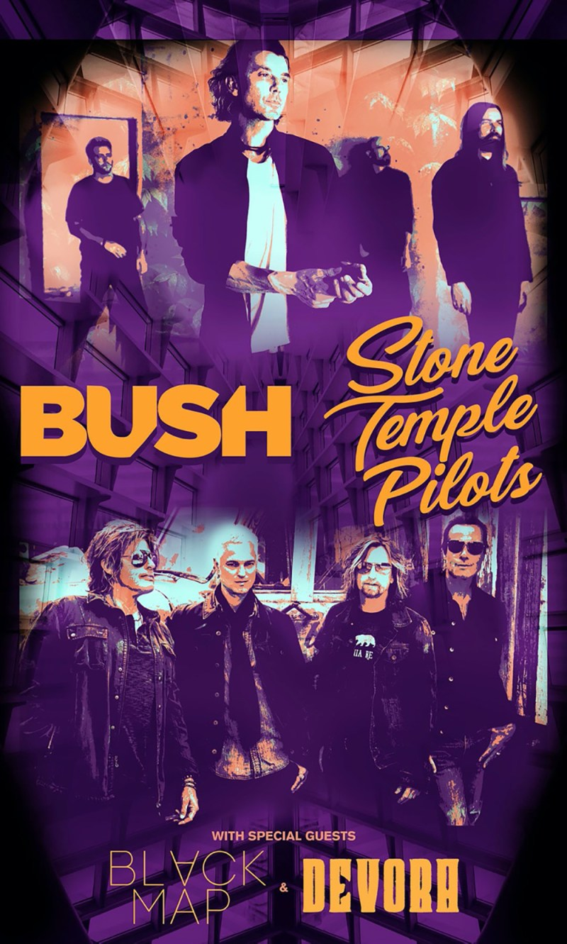 Bush and Stone Temple Pilots Tour
