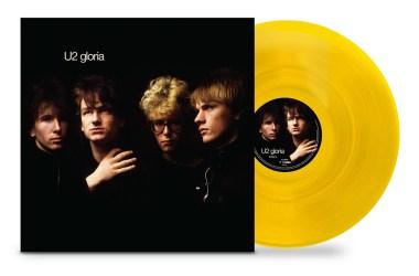 U2 Gloria 12-in Yellow Vinyl EP