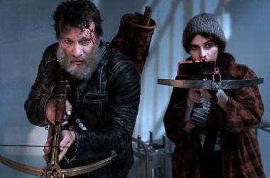 Thomas Jane and Kara Hayward Thomas Jane and Kara Hayward in 'Slayers' — Photo Credit: Riley Yazzie