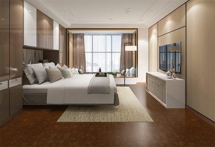 Mahogany Ripple Forna Cork Floor Retirement Living Style Decoration Interior Design Ideas Bedroom Icork Floor Store