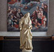 Panna Maria - původní vybavení kostela