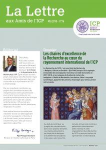 ICP Lettre aux amis mai 2018