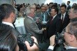 Заместитель генерального директора Музея имени Н.К. Рериха В.В. Фролов на торжественном приёме у Президента Монголии