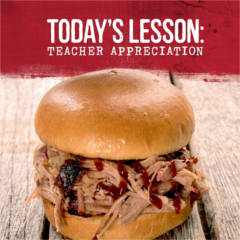 Sonny's BBQ Teachers Appreciation