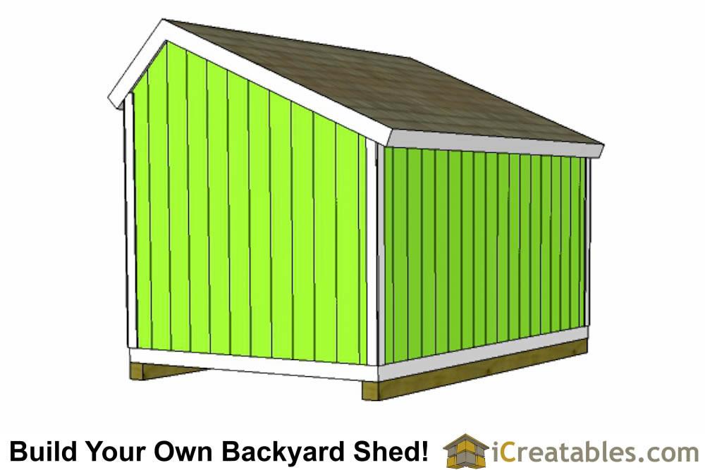 Basic Shed Framing