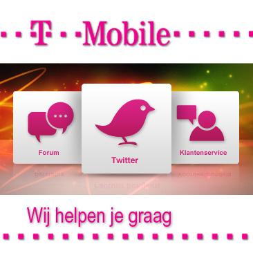 Service bij T-Mobile
