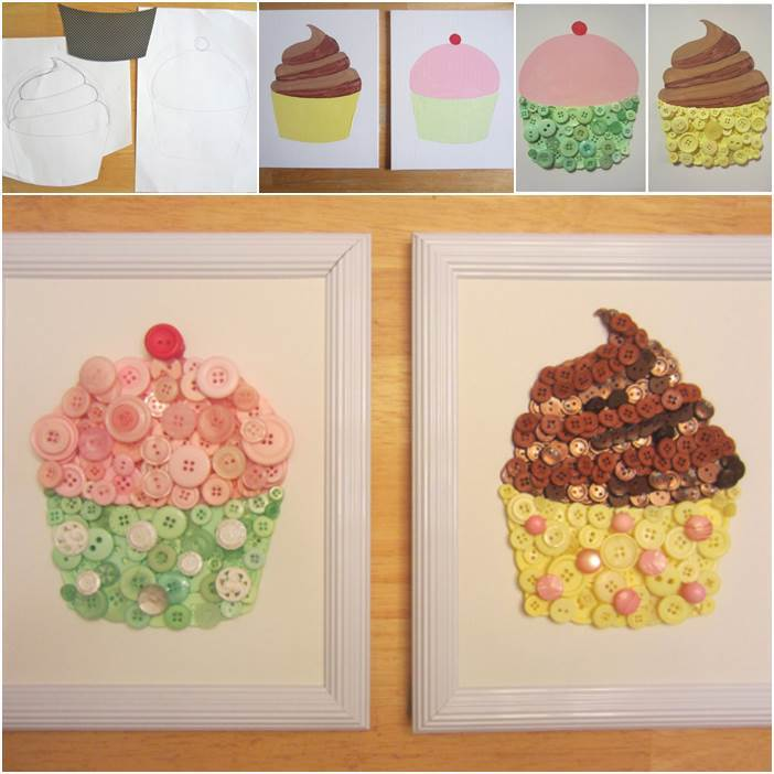 For readers that have children or. Diy Cupcake Button Crafts