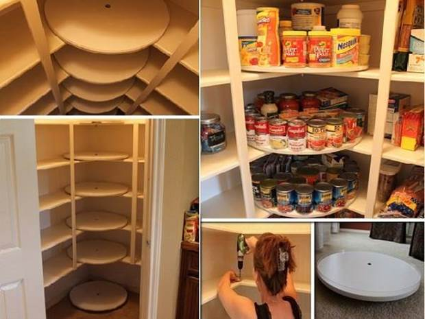 how to make lazy susan style shoe