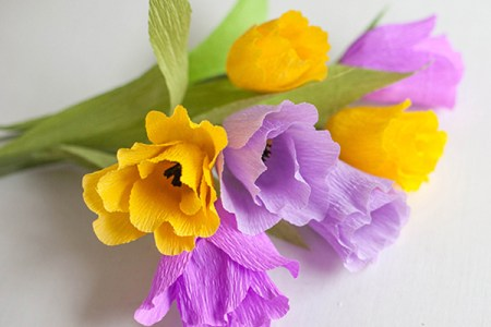 Crepe paper flowers new top artists 2018 top artists 2018 how to make crepe paper flowers hooray mag how to make japanese anenomes paper flowers crepe paper flower on the hallmark channel lia griffith i m so mightylinksfo