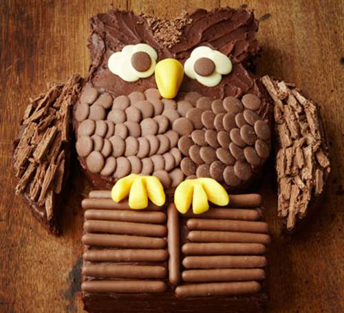 Creative Chocolate Button Cakes DIY Ideas