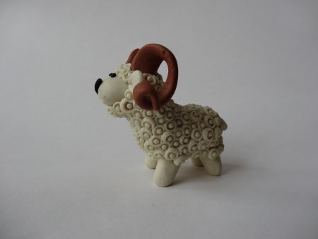 Creative Ideas DIY Adorable Polymer Clay Sheep