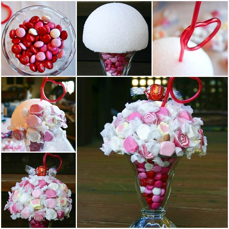 Creative Ideas DIY Candy Filled Milkshake