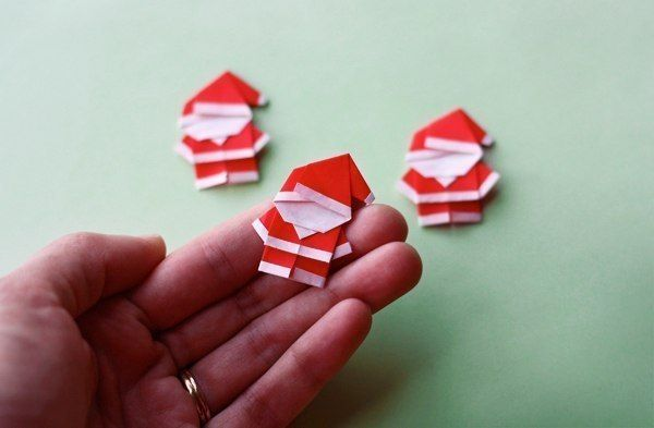Creative Ideas Diy Cute Origami Santa