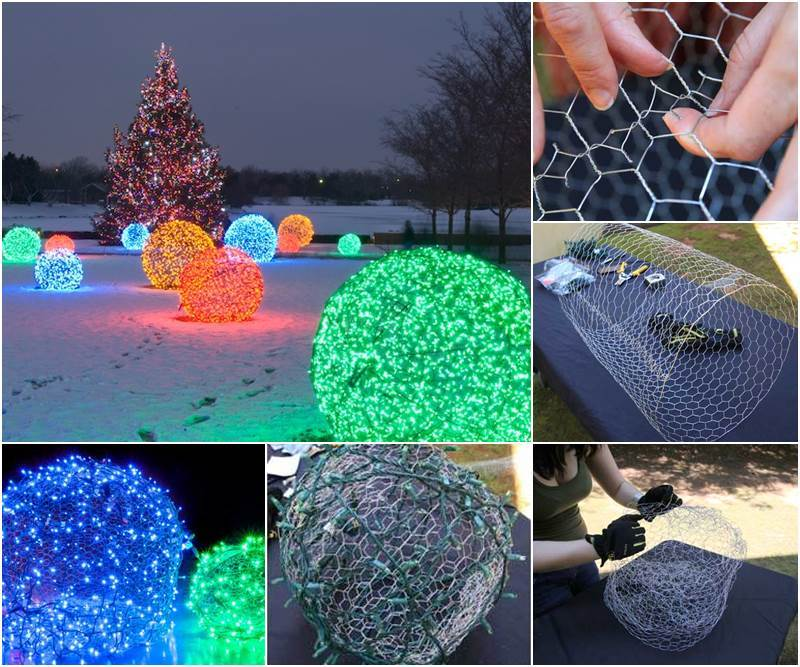 Creative Ideas Diy Outdoor Christmas Light