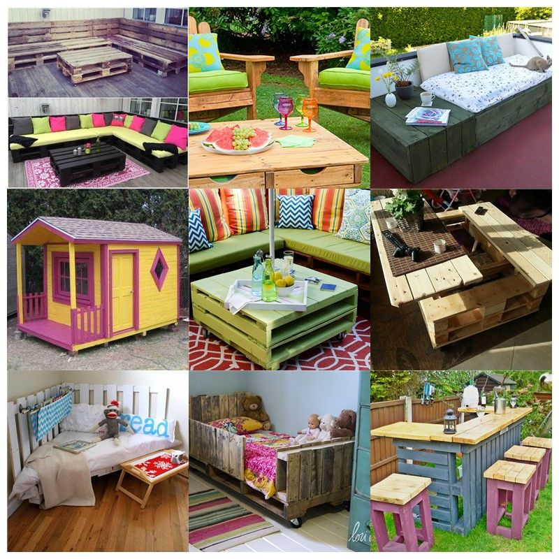 How To DIY Wooden Pallet House